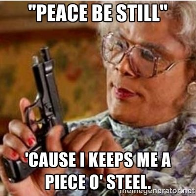 mADEA PEACE BE STILL